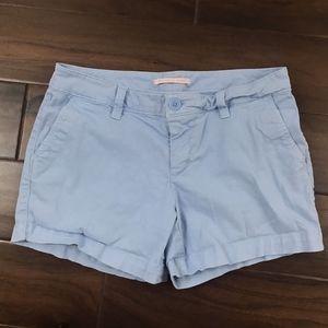 Victorias Secret Size 4 / 5 Powder Blue Shorts